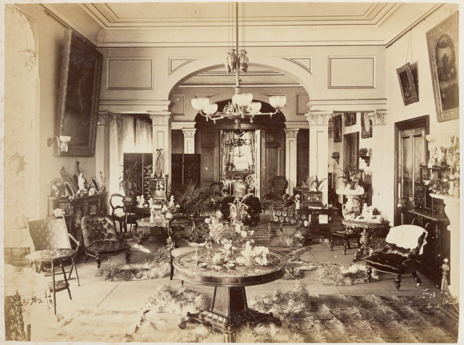 Interior of Fairlie House